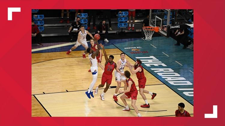 Eastern Washington falls to Kansas in first round of the NCAA Tournament 93-84