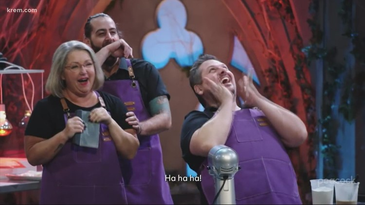 Spokane chef Ricky Webster 'puts baking skills to the test' on Snoop Dogg and Martha Stewart's Halloween series
