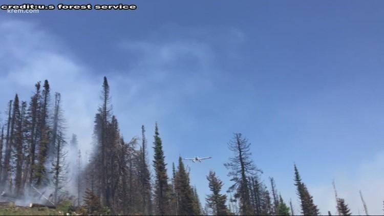 Multiple wildfires burning in eastern Washington, North Idaho causing heavy smoke