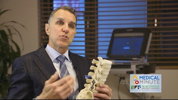 Dr. Jeffery Larson talks about advances made in spinal surgery