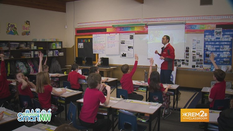 KREM in the Classroom: Educating students about broadcasting and weather