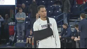 Gonzaga defeats NDSU 102-60