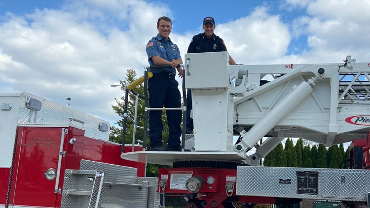 Father-son firefighting duo