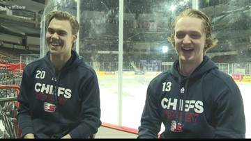 Woodsy and Smith: Two Spokane Chiefs finish WHL careers together