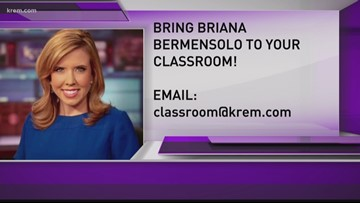 KREM in the Classroom: Michael Anderson Elementary at Fairchild Air Force Base (3-29-18)