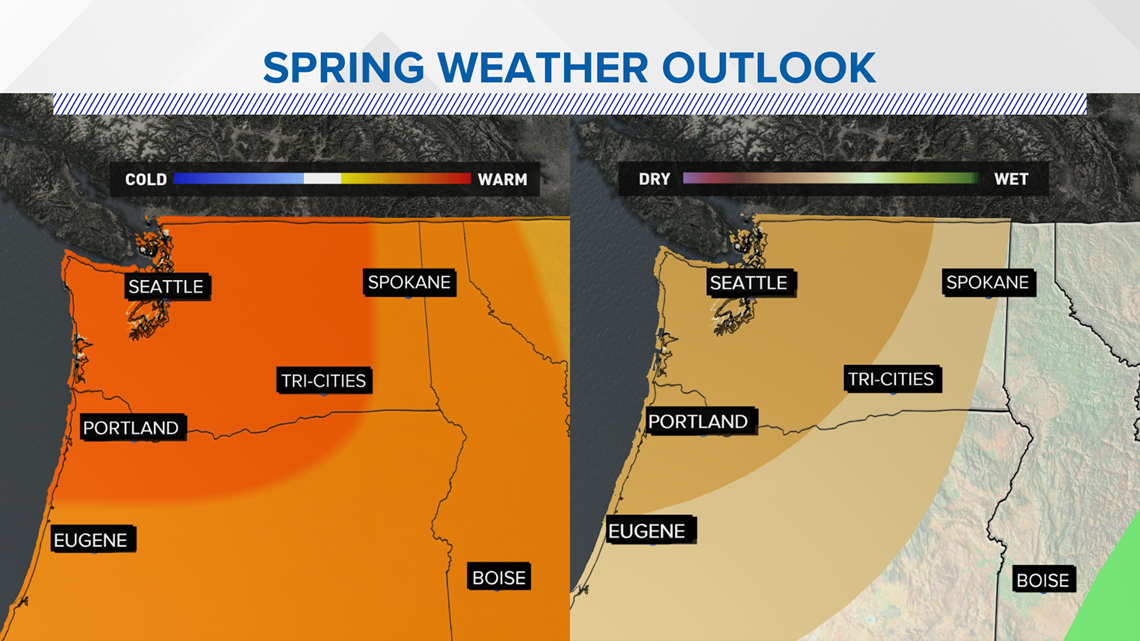 spokane spring will be a warm one  climate scientists say