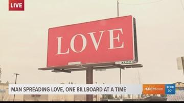 Spokane man's 'Love' billboards go international