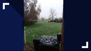 At least three North Idaho locations see snow on Saturday