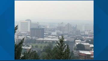 Why is wildfire smoke so bad in the Spokane area?