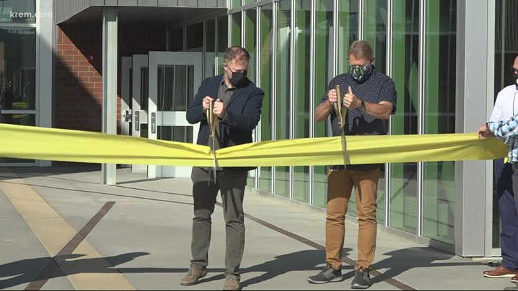Middle school students step into brand new buildings