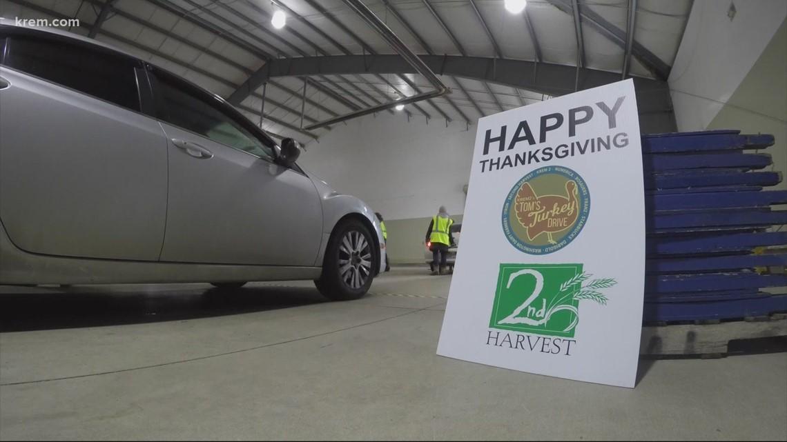 Tom's Turkey Drive 2020 wraps up at Spokane County Fairgrounds