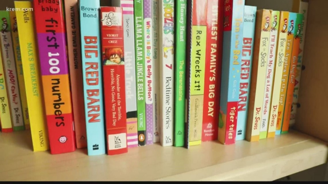 Issac's Bookshelf wins June 2019 round of KREM 2 and STCU's 'Who do you love?' campaign