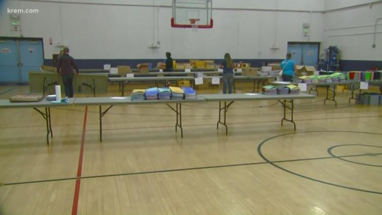 KREM's Tools 2 Schools packs over 2,200 backpacks for local students