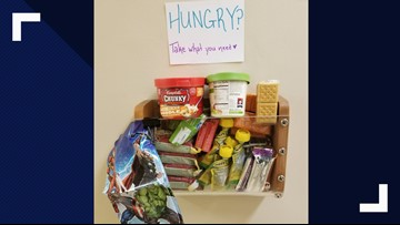WSU Ph.D candidate creates food bank for students