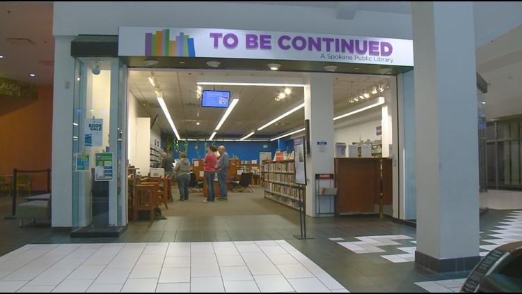 Spokane Public Library in NorthTown Mall