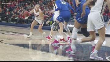 GU women's loss to BYU may hurt WCC, NCAA seeding