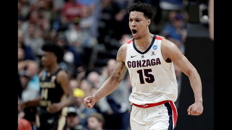 Predicting which NBA teams will draft Gonzaga MBB's Hachimura and Clarke