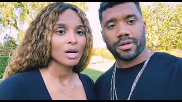 Russell Wilson and Ciara  donate a million meals to Seattle Food Lifeline