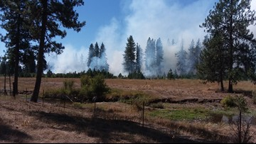Reservation Field Fire burning in Stevens Co. fully contained, burns 28.5 acres