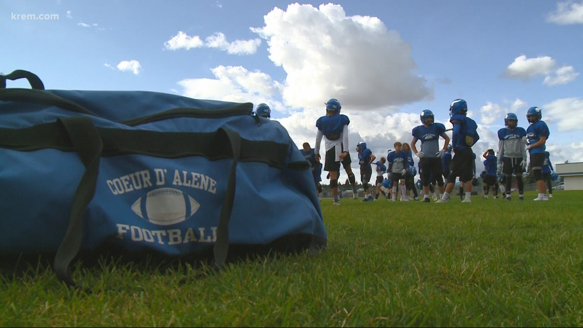 Spokane HS football player transfers to Coeur d'Alene for academic, football opportunities