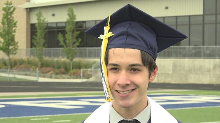 'A crazy four years': Gonzaga Prep's valedictorian reflects on graduating amid pandemic