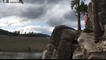Man dies while cliff jumping on Long Lake