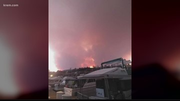 Level 3, 2, 1 evacuations in place for 21,000-acre Williams Flats Fire