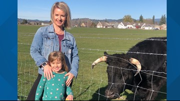 This Post Falls family saved a bull from the slaughterhouse. Now they are best friends