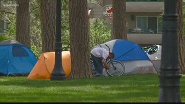 Spokane warming center operator won't leave after homeless evicted, city says