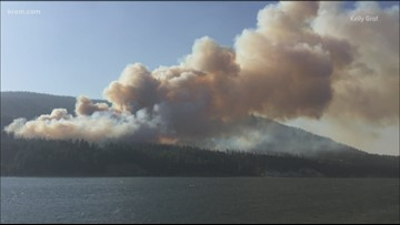 Washington DNR files lawsuit against Avista for 2018 Boyds Fire in Ferry County
