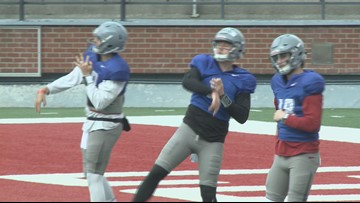 The 3 quarterbacks competing to be WSU football's top signal caller