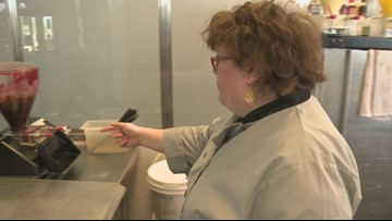 Retro Donuts employee with disability shines at work