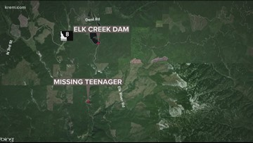 Search underway after Idaho teen falls into Elk Creek Falls