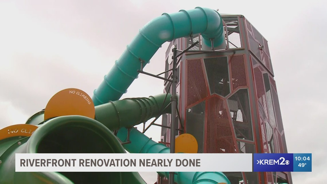 Downtown Spokane redevelopment project wraps up; costs $75M