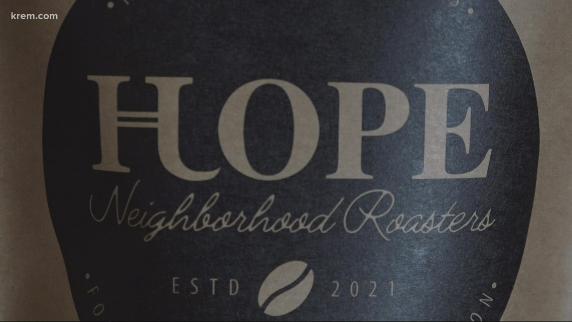 Hutton Settlement students brew a cup of 'HOPE' in Spokane