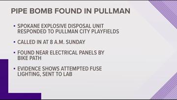 Spokane Explosive Disposal Unit defuses possible 'pipe bomb' in Pullman, police say