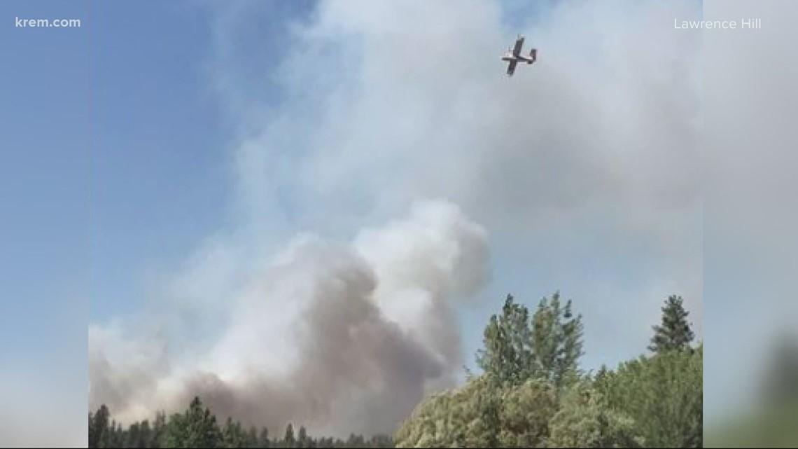Sherwood Fire burns 100 acres on Spokane Reservation