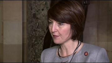Rep. Cathy McMorris Rodgers holds town hall at Gonzaga