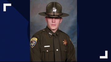 Montana trooper may recognize people after he was shot in face, head, neck