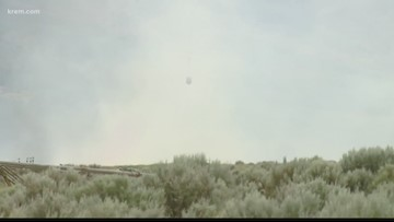 Some firefighters battling 243 Fire in Grant Co. could go home Thursday