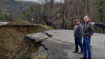 Some roads in N. Central Idaho could take more than a year to rebuild after flooding