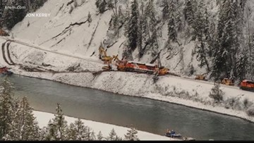 Locomotive could be removed from Kootenai River by February after derailment
