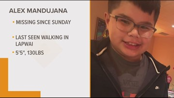 Police search for 12-year-old boy missing from Lapwai since Sunday