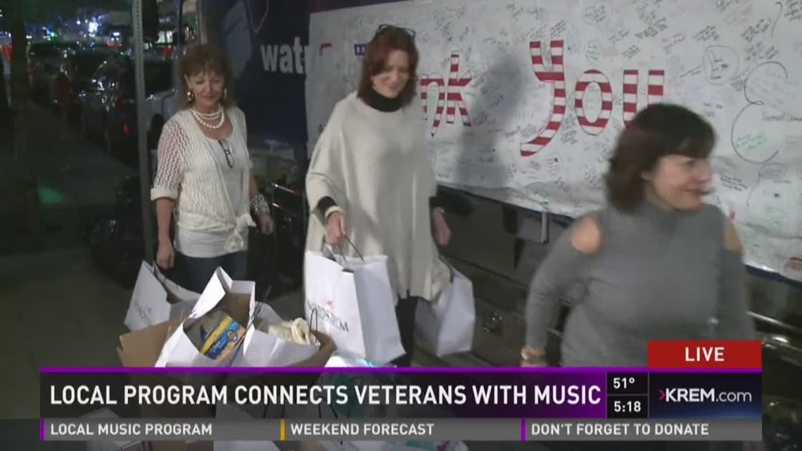 Nordstrom staff make donations to Treats 2 Troops