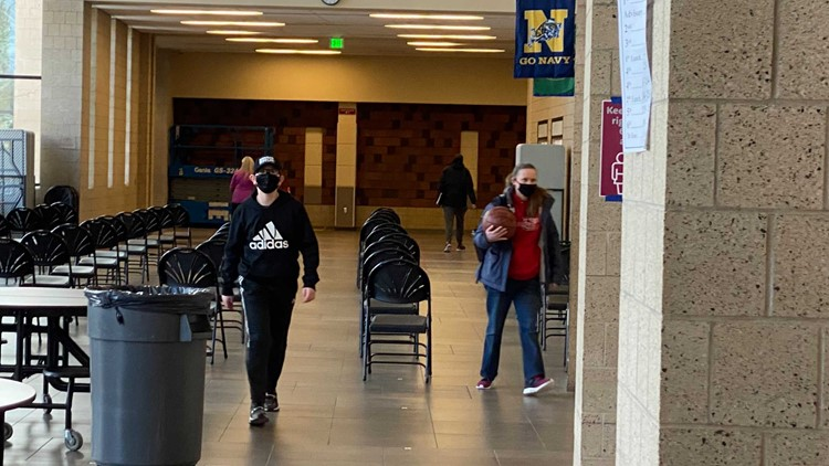 Ferris High School prepares for students to return to in-person learning
