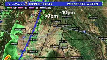 Spokane to see showers Wednesday night, no Red Flag Warning needed