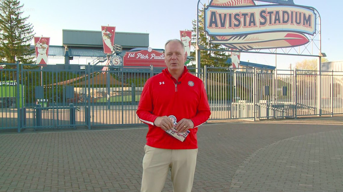 Spokane Indians play live at Avista Stadium