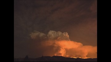 Time Lapse of the Williams Flats Fire