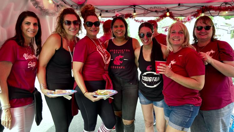 WSU Cougar football fans tailgate to make up for lost time
