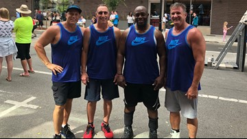 Hoopfest legends: Two men celebrate 30th year in the tournaments